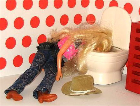 The Barbie Barf Club