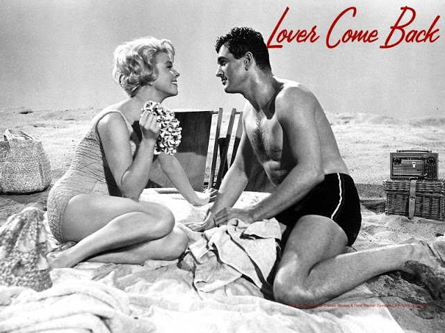 Doris Day and Rock Hudson in Lover Come Back
