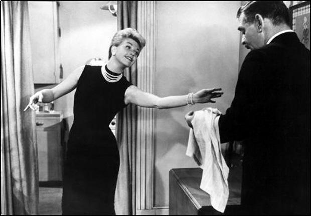 "Doris Day and Clark Gable ""Teacher's Pet"""