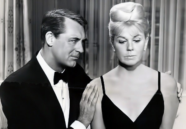 "Doris Day and Cary Grant in ""That Touch of Mink"""