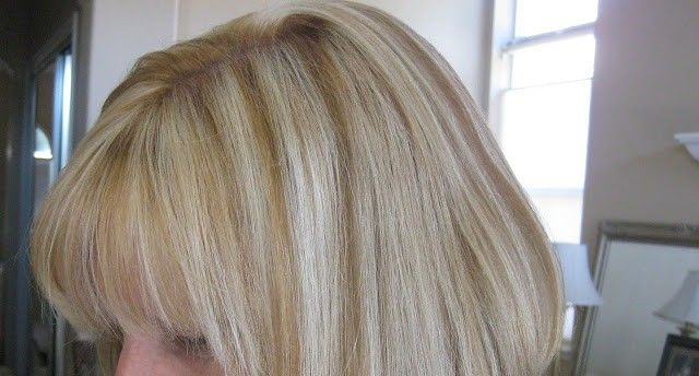 Lowlights and highlights for blondes