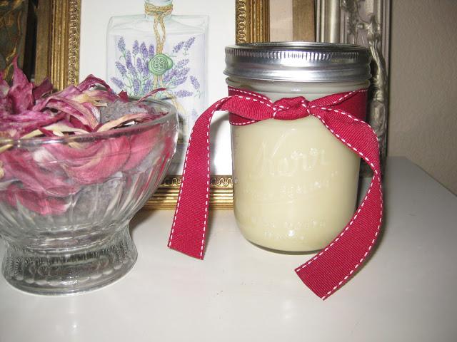 Homemade Beeswax Body Butter