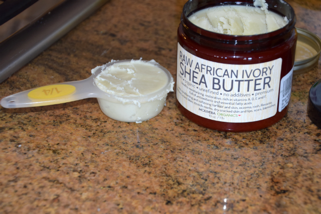 shea butter for Homemade body butter with beeswax and shea butter