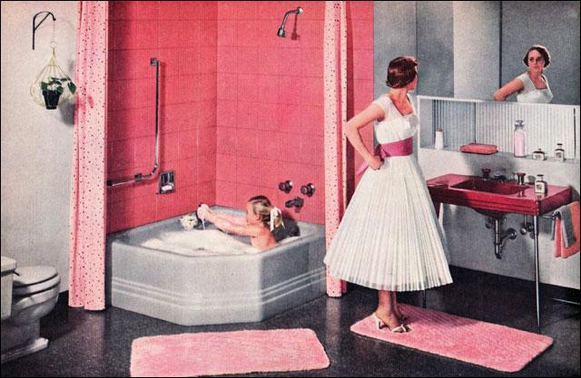 1960s bathrooms