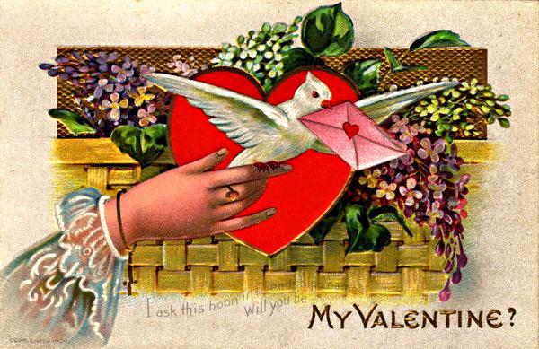 Crazy vintage valentines