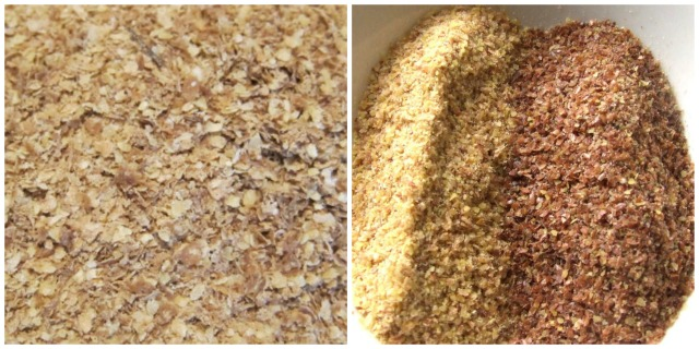 Flaxseed and wheatgerm nutrition
