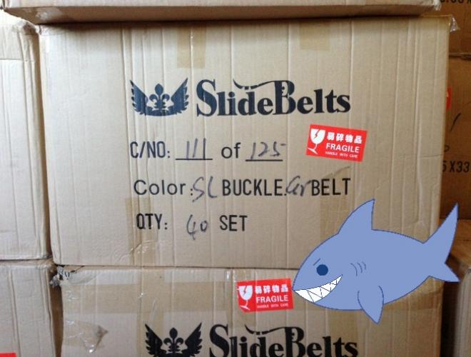 slidebelts shark tank mission belt