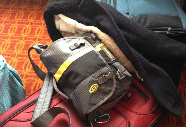 Very exciting….as a luggage problem