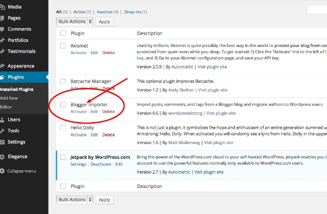 Plugins ‹ My Blog — WordPress