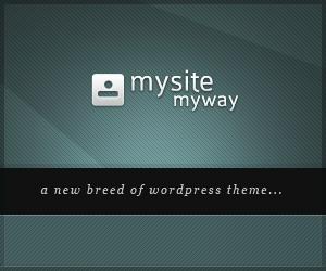 mysitemyway wordpress theme
