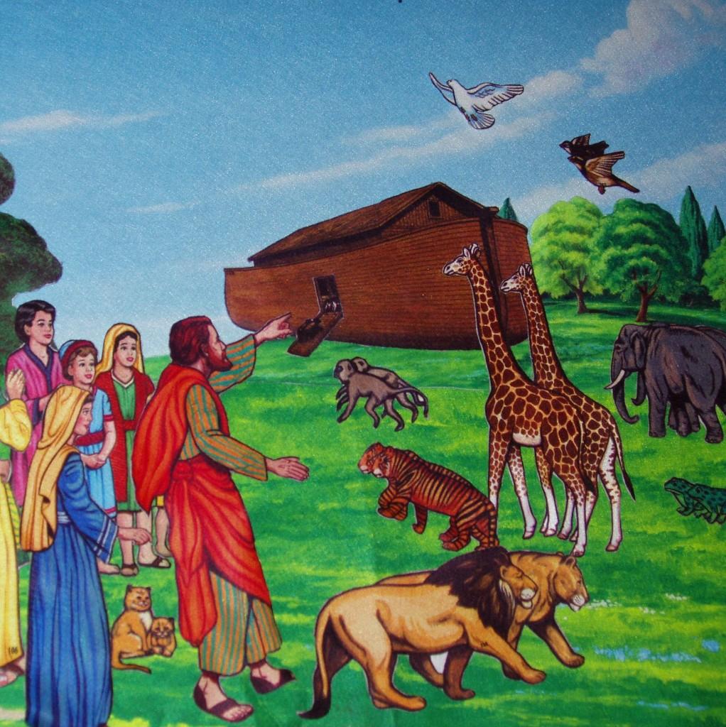 noah's ark flannel board story