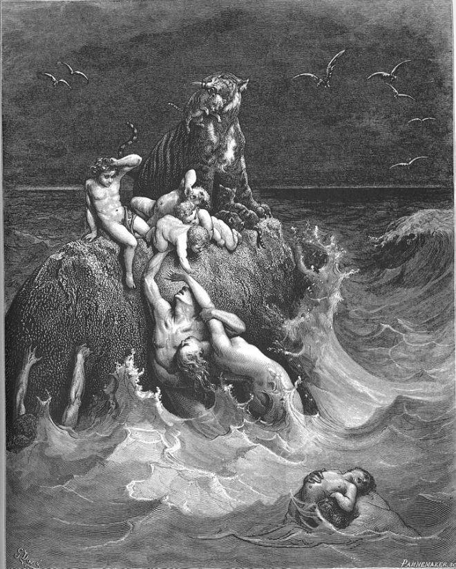 Gustave Dore Noahs ark
