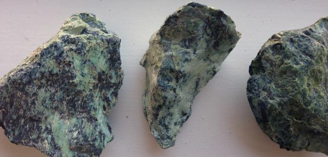 Polished Serpentinite