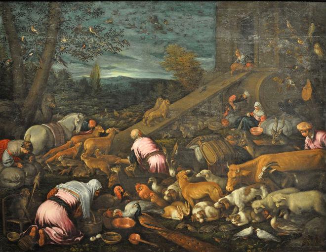 noahs ark Bassano_Jacopo_Entry_into_the_Ark