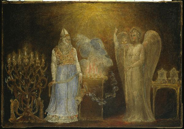 Angel Gabriel appears to Zachariahs