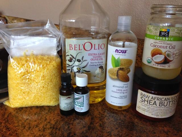 Ingredients for Anti-fungal Cream