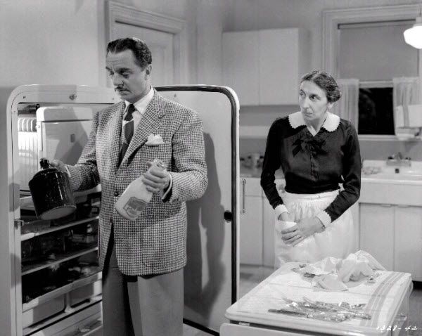 The Thin Man gets in the fridge