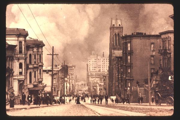 Surviving San Francisco earthquake video