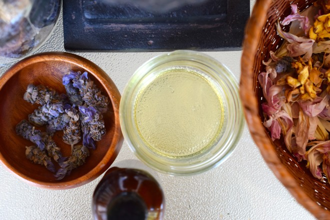 homemade cleansing oil