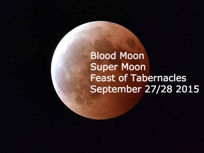 Super blood moon 2015