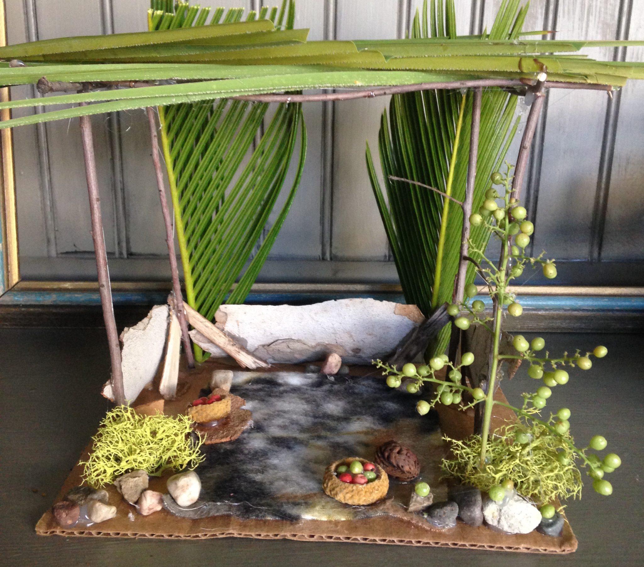 Sukkot miniatures for kids