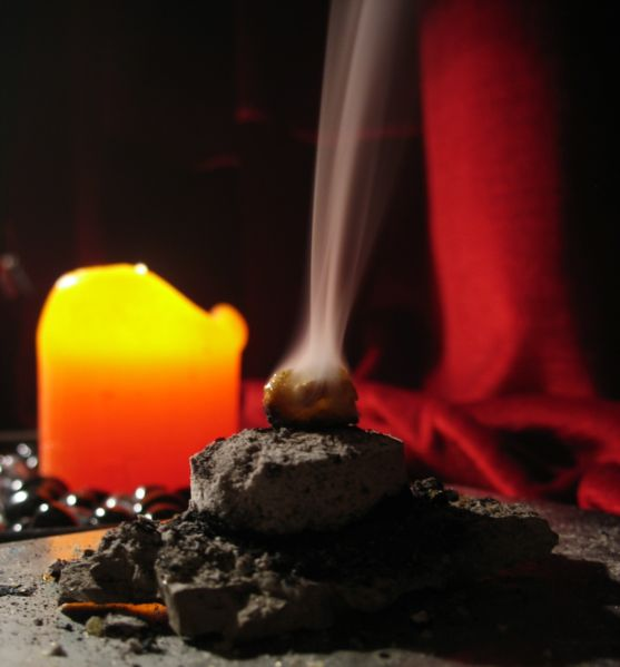 frankincense-burning