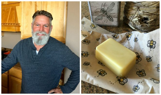 Beeswax Beard Balm Bar