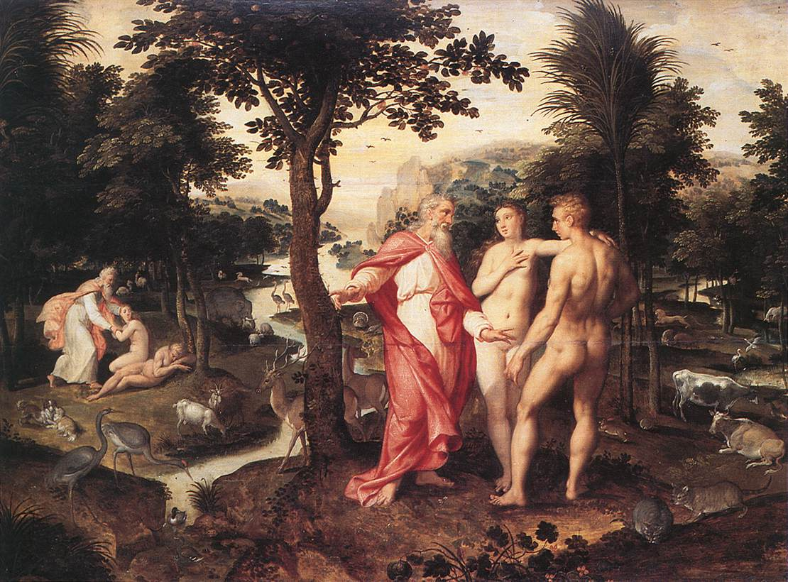 Jacob De Backer   Garden Of Eden   WGA1125