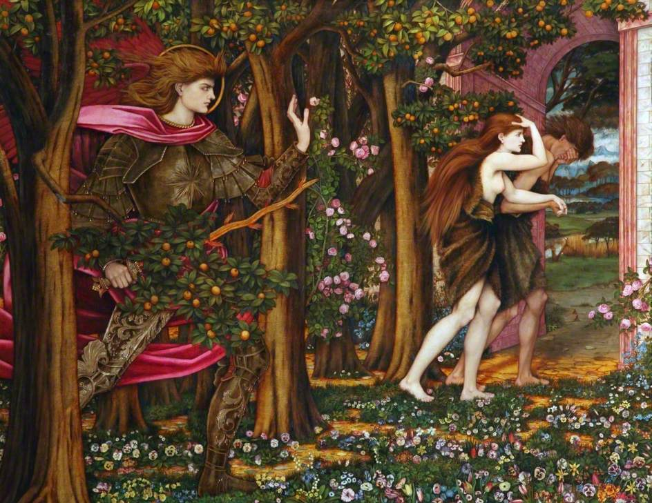 John Roddam Spencer Stanhope   The Expulsion From Eden 1900